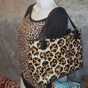 Coach Edie Polished Pebble Leather Shoulder Bag